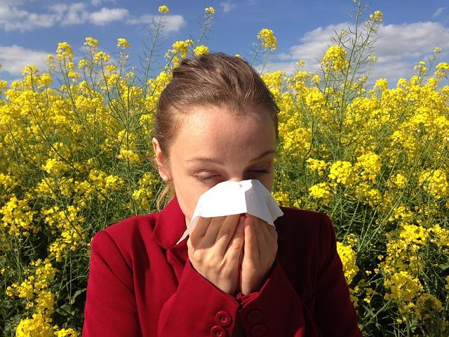 reakcji alergicznej